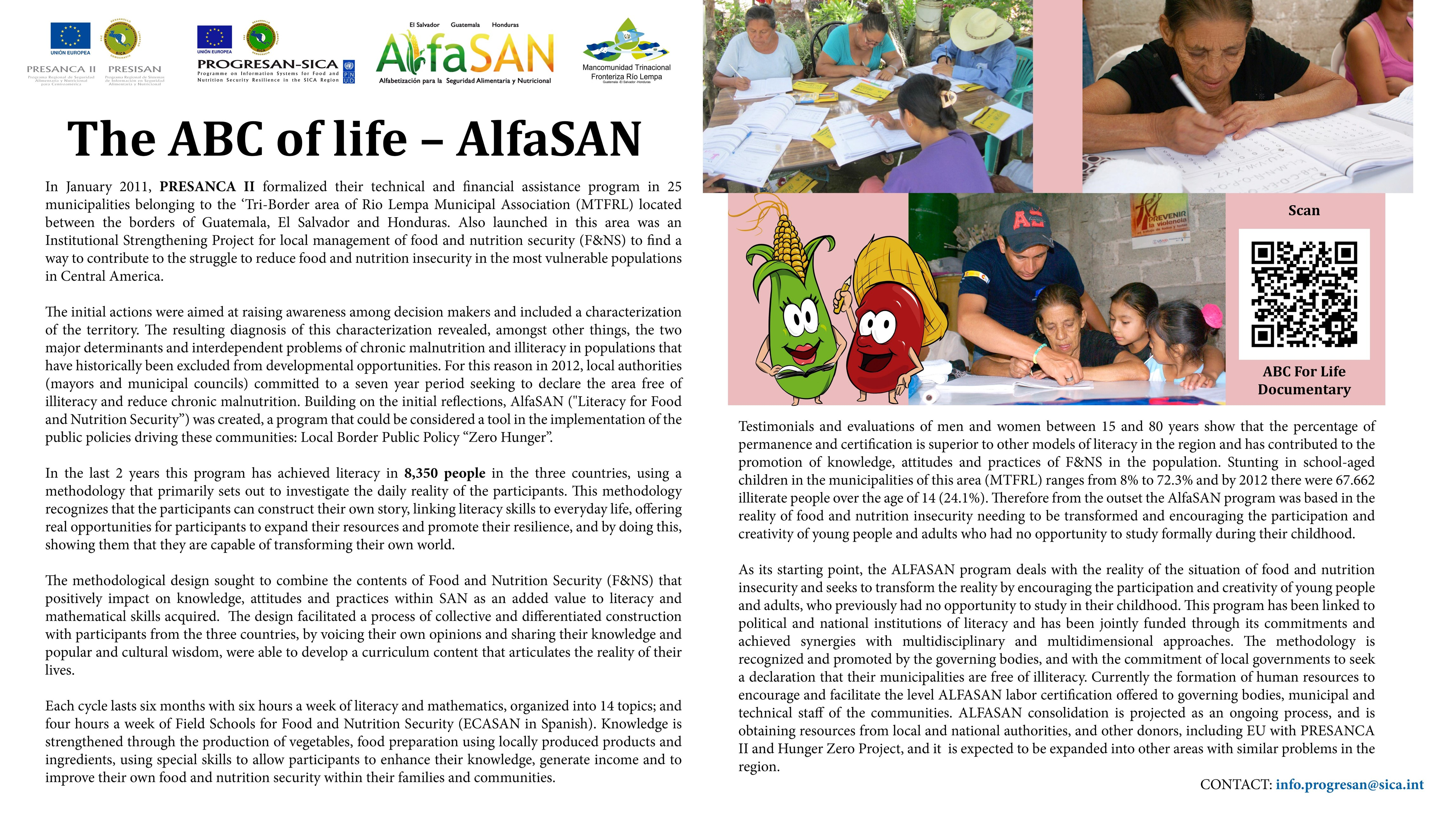 The ABC of Life - AlfaSAN