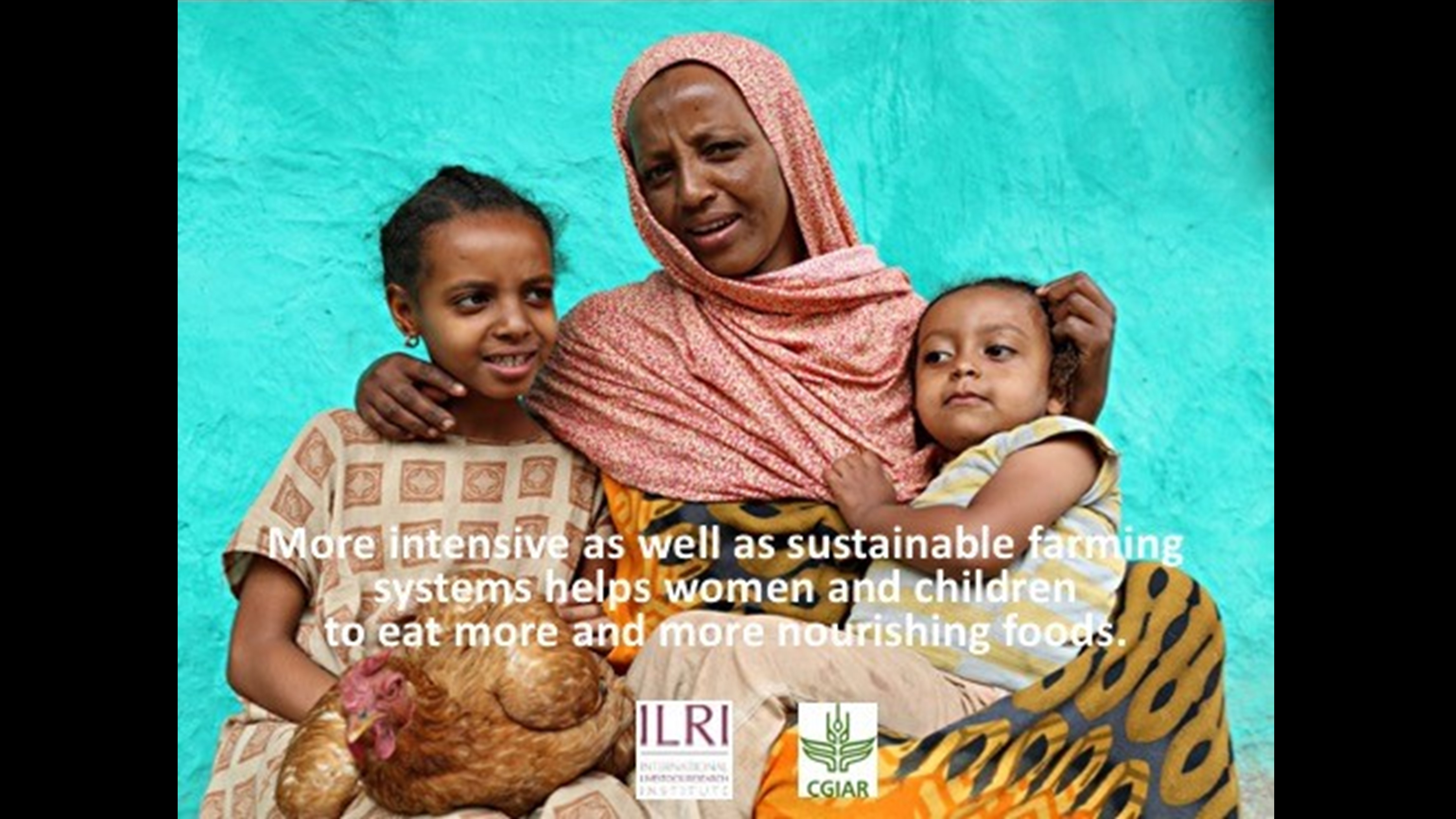 Intensive and Sustainable Farming Systems Help Women and Children