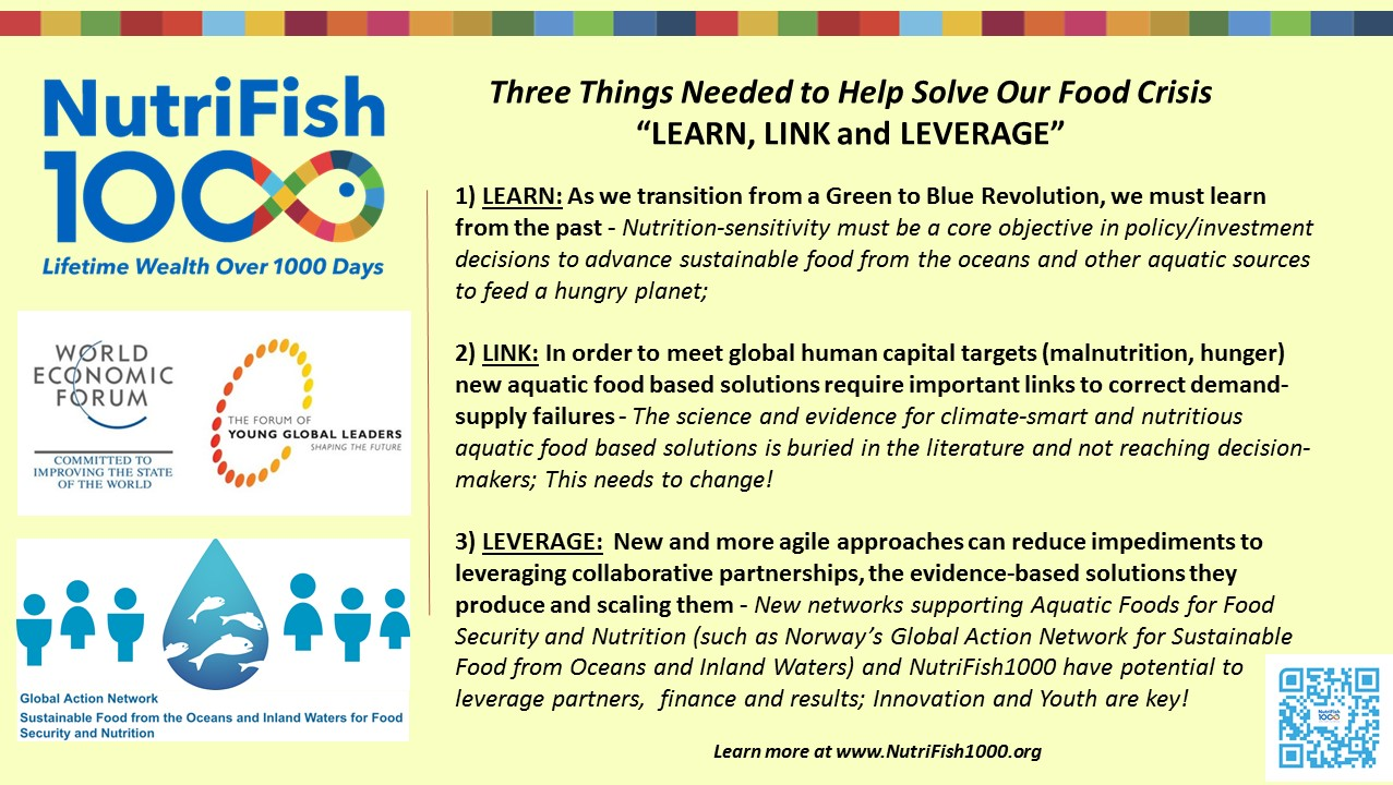 Three Things Needed to Help Solve Our Food Crisis: Learn, Link, and Leverage