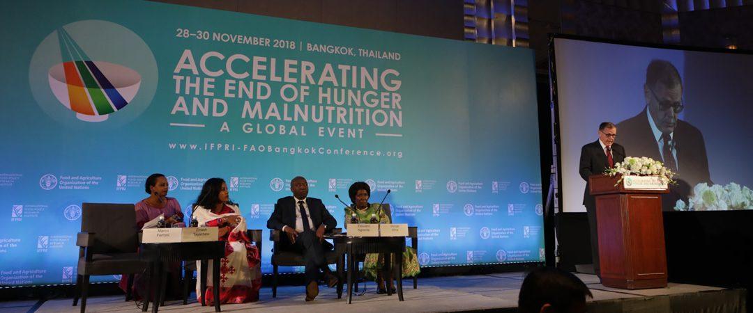 IFPRI-FAO Bangkok Conference Daily Flash Update: Thursday, November 29, 2018